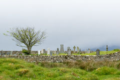 Skye Graveyard immagine stock libera da diritti