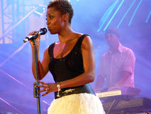 SKYE morcheeba Royalty Free Stock Photo