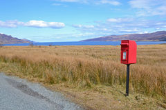 Skye Postbox Stock Photos