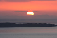 Skye Sunset Photos stock