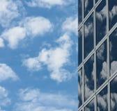 Glas- Sky Fotografering för Bildbyråer