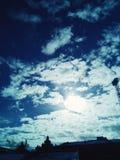 Skyes da mola Imagens de Stock Royalty Free
