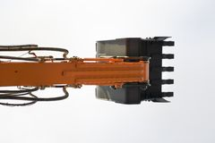 skyffel för grävskopa s Fotografering för Bildbyråer