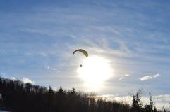 Skygliding Arkivbilder