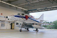 A-4 Skyhawk Foto de Stock