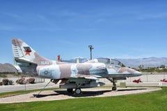 A-4 Skyhawk Fotografia de Stock