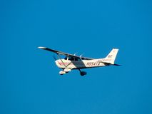 Skyhawk n554ta de Cessna Foto de Stock Royalty Free