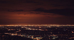Mountain Night View. It was shoot at Mount Dandenong in Melbourne Royalty Free Stock Photo