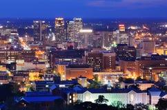 skyine Алабамы birmingham городское стоковые фото
