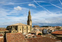 A skyine of on old town in SPain Stock Images