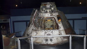 Skylab II Apollo Command Module. PENSACOLA, FLORIDA - OCTOBER 19, 2016: The Skylab II Apollo Command Module, the first manned mission to the space station, is on Royalty Free Stock Image