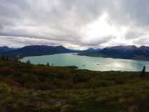 Skylak湖 图库摄影