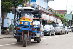 Skylap, a type of public transportation in Pakse, Laos Stock Photography
