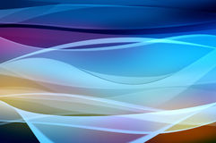 skyler abstrakt bakgrund färgad rök waven royaltyfri illustrationer