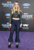 Skyler Shaye. At the Los Angeles premiere of `Guardians Of The Galaxy Vol. 2` held at the Dolby Theatre in Hollywood, USA on April 19, 2017 Royalty Free Stock Images