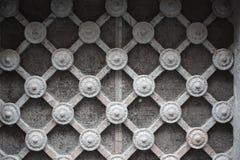 skylight утюга рамки старый нанесённый Стоковые Изображения
