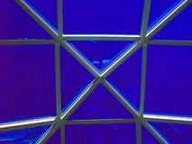 Skylight. Abstract blue skylight stock images
