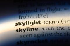 skylight imagens de stock