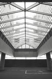 Skylight architectural structure into a car garage Stock Photos