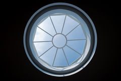 Skylight with blue sky Royalty Free Stock Photo