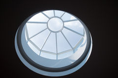 Skylight with blue sky Stock Images