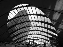 Skylight in contemporary building