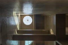 Skylight detail of the new Eucalipto subway royalty free stock photos