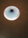 Skylight in a Domed Ceiling. With bright daylight shining through royalty free stock photos