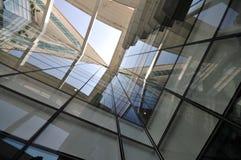 Skylight of a Energy Saving building Stock Image