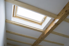 Skylight of a house attic Stock Photography