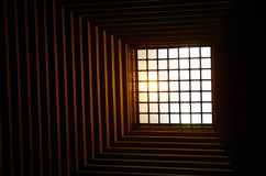 Skylight Melbourne. Skylight in the Shrine of Remembrance, Kings Domain, Melbourne, Australia Stock Photography