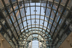 Skylight and modern  building Royalty Free Stock Photos