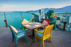 Skylight Nha Trang observation deck Stock Images