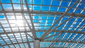 Skylight okno lub abstrakcjonistyczny architektoniczny tło Architectu Fotografia Royalty Free