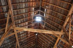 Skylight w stajnia dachu Zdjęcie Royalty Free