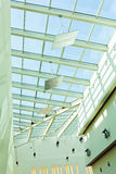 Skylight window. In shopping mall, abstract architectural background Royalty Free Stock Photography