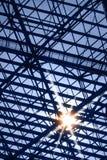 Skylight Window With Sun Glare Royalty Free Stock Photo