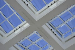 Skylight Windows Stock Photo