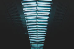 Skylights in modern building