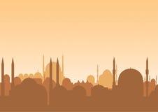 Skyline árabe Fotos de Stock Royalty Free