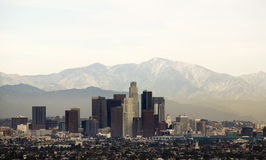 Skyline 1 de Los Angeles Imagem de Stock Royalty Free