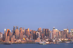 Skyline 1 de NYC fotos de stock royalty free