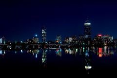 Skyline 2 de Boston Fotografia de Stock Royalty Free