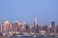 Skyline 2 de NYC Imagens de Stock Royalty Free