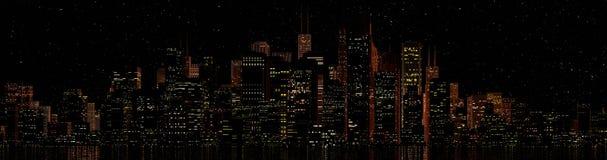 Skyline Lizenzfreies Stockfoto