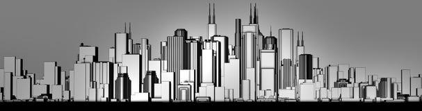 Skyline Vektor Abbildung