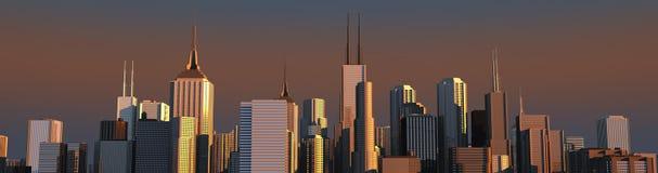 Skyline Stockfotos
