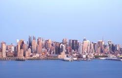 Skyline 4 de NYC imagem de stock