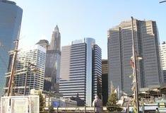 Skyline 7 de New York Fotos de Stock Royalty Free