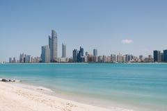 Skyline Abu Dabi Lizenzfreie Stockbilder